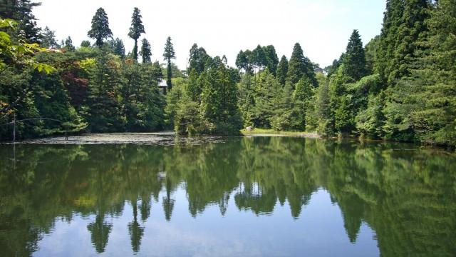Lake Mikuni in Kobe, Japan by 663highland (CC BY-SA 3.0)